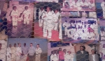 The photo board at BananSport dojo