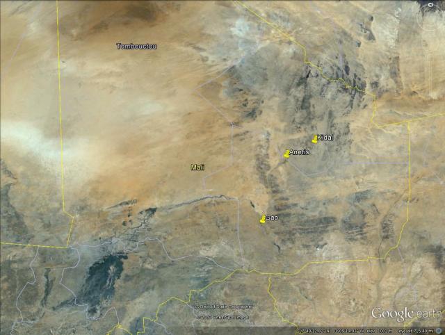 N Mali map