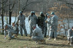 Malian paratroopers receive logistics training in W. Virginia, November 2011 (photo: Allison Hill, US Army Africa)