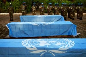 MINUSMA troops honor fallen comrades, November 2014